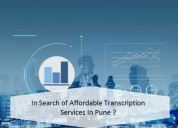 In search of affordable transcription services in