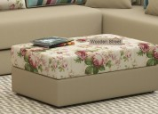 Trendy collection of poufs online for living room