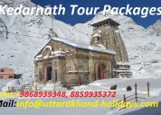 Divine kedarnath yatra package with uhpl