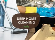 Get professional deep home cleaning services