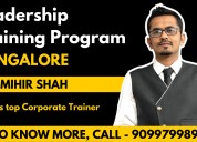 Top leadership training programs in bangalore - yatharth marketing solutions