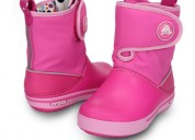 Crocs girls boots online- comfortable rain and sno