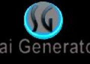 Second hand generators 10 dg set current sale from