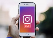 Instagram live streaming and webcasting solutions