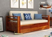 Look at the elegant and stylish wooden sofa design