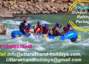 Book adventurous shivpuri river rafting packages