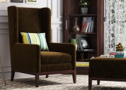 Get best lounge sofa chairs online at woodenstreet