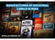 Prolabels private limited | manufacturer of labels