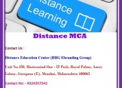 Best distance mca in mumbai
