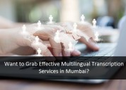 Want to grab effective multilingual transcription