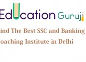 Education guruji- top ssc and banking coaching ins