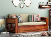 Look at the stylish and elegant sofa bed design