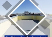 Roof waterproofing solutions - choksey chemicals