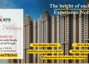 Get your dream home @ ats homekraft nobility noida