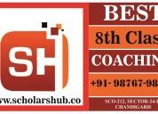 8th class coaching in chandigarh