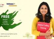 Free medical coding training in chennai