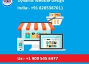 Affordable dynamic website design service provider