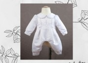 Buy noel white baptism romper for baby boy