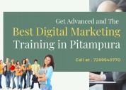 Best digital marketing training in pitampura