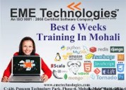 Free industrial training in mohali