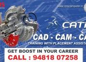Best cad, cam, cae & catia training institute