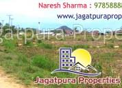 Buy & sale jda approved properties in jagatpura, j