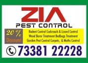 Bangalore zia pest control service 50% discount on