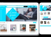 Furniture e-commerce website templates -purchase c