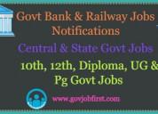 Gov job first latest govt jobs notifications