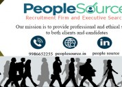 People source consultancy- recruitment company