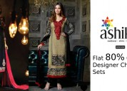 Flat 50% Off Selected Cotton Printed Sarees