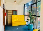 Co-working fully functional office spaces for rent