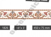 Decorative ceramic border tiles | punjab & bihar