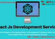 Reactjs web development services
