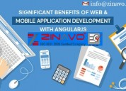Angularjs web & mobile app development services