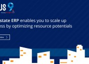 Real estate and property management erp software
