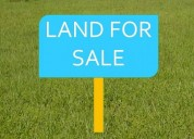 Commercial land for sale at affordable price