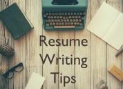 Resume writing service at india