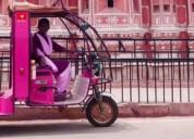 Ready for rickshaw tour in jaipur | trekwalks