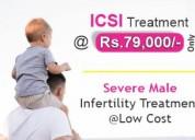 Icsi treatment cost in india, bangalore @ rs.79000