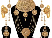 Bridal jewelry on rent in delhi ncr | from bridal
