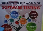 Best software testing training and placement