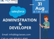 Salesforce administration & developer demo on 31st