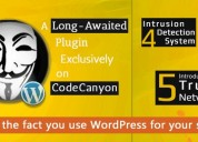 Hide my wp provides your website with three layers