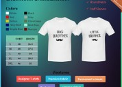 Sneha.k. customized couple t - shirt
