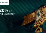Up to 20% off diamond jewellery