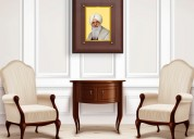 Bless your house with radha swami photo frame