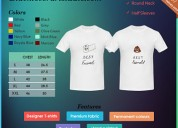 S. kamalpuria customized couple t - shirt