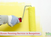 Repainted with our wall painting services