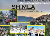 Book your shimla tour package with btpl
